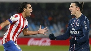 Falcao Vs Ibrahimovic - Video