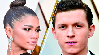 Zendaya And BF Tom Holland Walk Oscar Carpet SEPARATELY...But WHY? | 2018 Oscars - Video