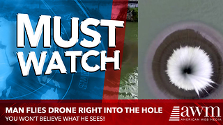 We Finally Have Answers After Man Flies Drone Into Glory Hole With Camera Attached - Video