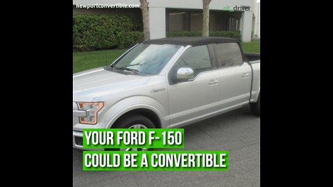 Your Ford F-150 Could Be A Convertible Truck