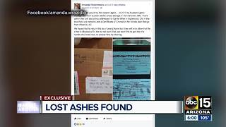 Woman trying to connect family of Vonda Range with her cremated remains - Video