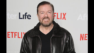 Ricky Gervais casts his shows before writing them