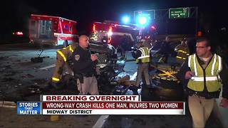 Driver killed in wrong-way crash on I-5 in Midway area - Video