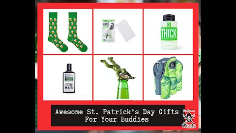 Awesome St. Patrick's Day Gifts For Your Buddies