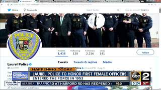 Laurel PD to honor first female officers - Video