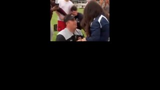 Man Gets Help Proposing to Girlfriend From Penn State Football Coach