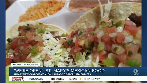 St. Mary's Mexican Food offers takeout options