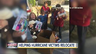 Tampa area non-profit helps families from Puerto Rico relocate to Florida after hurricanes - Video