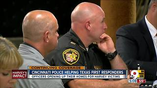 FOP hopes to launch housing program to bring families of Houston first responders to Cincinnati - Video