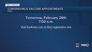 Publix scheduling vaccines tomorrow
