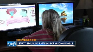 New study on Wisconsin girls reveals troubling patterns