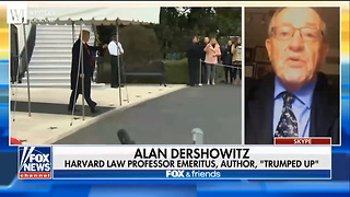 Alan Dershowitz There's A World Of Difference Between Trump And Obama On Iran