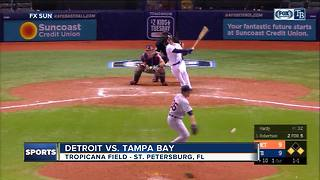 Daniel Robertson's RBI single in 10th inning lifts Tampa Bay Rays over Detroit Tigers 10-9 - Video