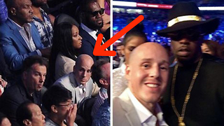 Conor McGregor Fan Pretends to Be Mayweather Security Member to Snag Ringside Seats - Video