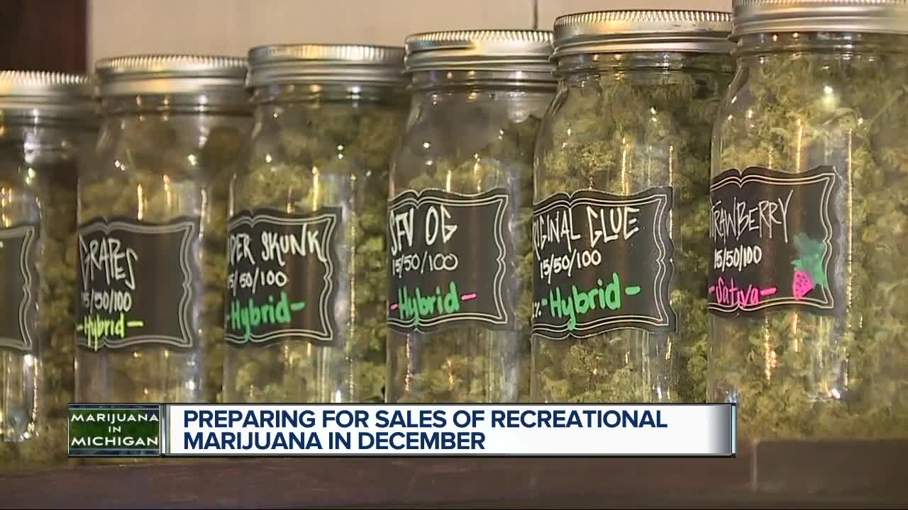 Preparing for sales of recreational marijuana in December