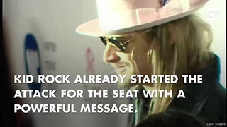 Kid Rock Tweets Out First Campaign Message - Video