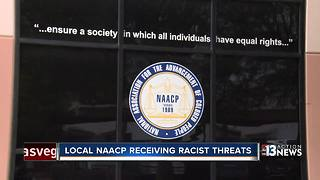 Phone threats to Las Vegas NAACP under investigation - Video