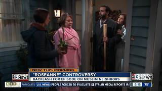 Roseanne backlash over Muslim episode - Video