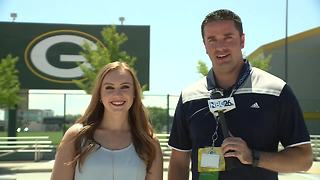 Talking Day 2 of Packers training camp - Video