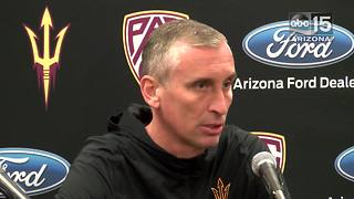 ASU coach Bobby Hurley and guard Tra Holder talk UA - ABC15 Sports - Video