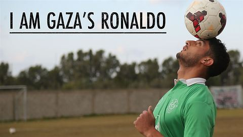 Gaza's Ronaldo: living under siege, searching for goals