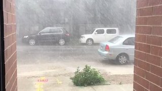 Heavy Rain, Hail Tears Through Chicago Neighborhoods - Video