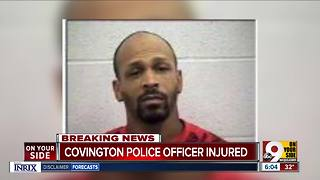 Covington officer hurt making Christmas Eve arrest - Video