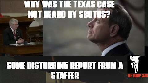 DISTURBING REPORT AND VIDEO OF WHY THE TEXAS CASE WAS DENIED!
