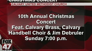 Around Town: Christmas concert - Video