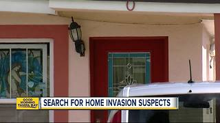 Deputies search for two teenagers who pistol whipped a woman inside her home - Video