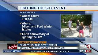 Edison and Ford Winter Estates reopens and light the night