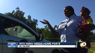 MTS hero needs home for 8 - Video