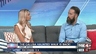 Calusa Haunted Walk looking for volunteers