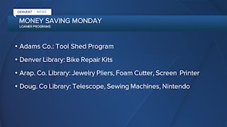 Money Saving Monday: Borrowing items you might need