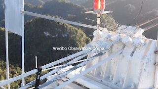 Arecibo Observatory Collapse - including drone footage