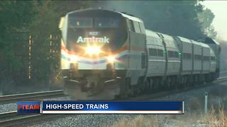 Fast engines coming to Hiawatha line hit with speed limit - Video