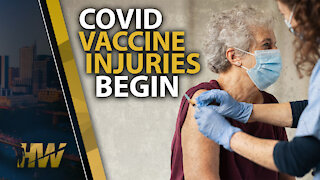 COVID VACCINE INJURIES BEGIN
