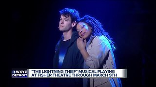 'The Lightning Thief' musical at Fisher Theatre through March 9