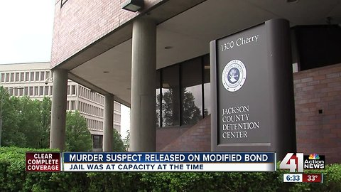 Murder suspect released on modified bond