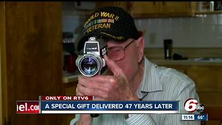 Surprise gift for Daleville father delivered 47 years later - Video