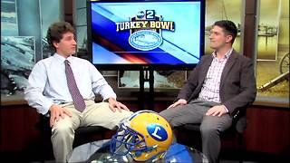 Turkey Bowl Preview: Loyola junior Alex Breschi - Video