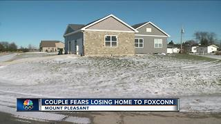 Eminent Domain: Couple fears they'll lose their home to Foxconn - Video
