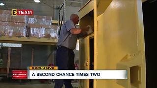 Through unique program, state inmates get head start on their second chance - Video