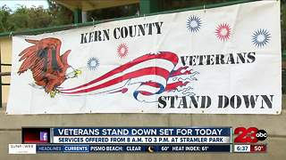 Veterans stand down set for today - Video