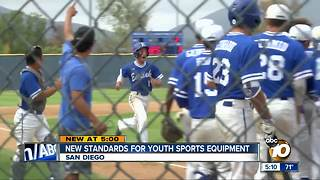 New standards for youth sport equipment - Video