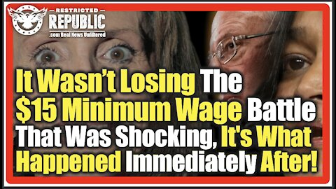 It Wasn't Losing The $15 Minimum Wage Battle That Was Shocking-It's What Happened Immediately After!