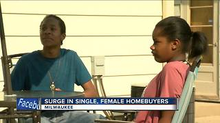 Single ladies are the second largest home buying group - Video
