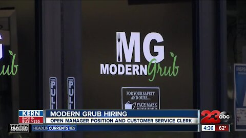 Modern Grub hiring for multiple positions