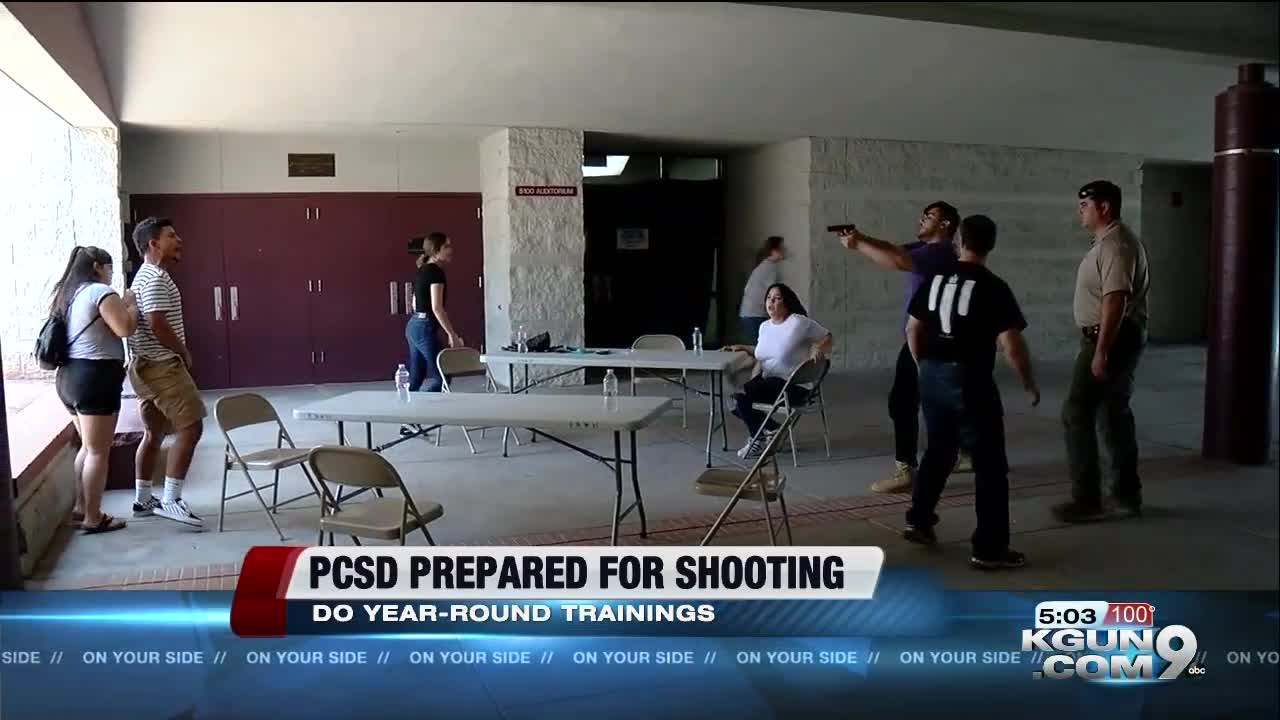 KGUN 9 ON YOUR SIDENEWSLOCAL NEWS PCSD: Prepared for active shooter  situation at moments notice