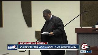 Indy City-County Council President responds to release of DCS report about 2004 allegations - Video